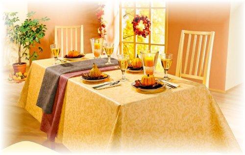 Tischdecke Wachstuch Eden Indian Summer 100 x 140 Farbe nach Wahl