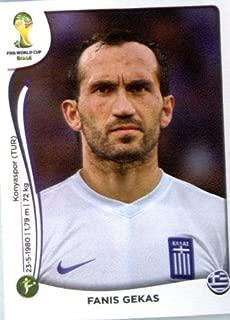 2014 Panini World Cup Soccer Sticker #220 Fanis Gekas