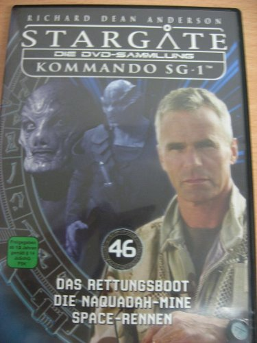 Stargate Kommando SG 1 - Das Rettungsboot / Die Naquadah-Mine / Space-Rennen - Die DVD-Sammlung: DVD 46