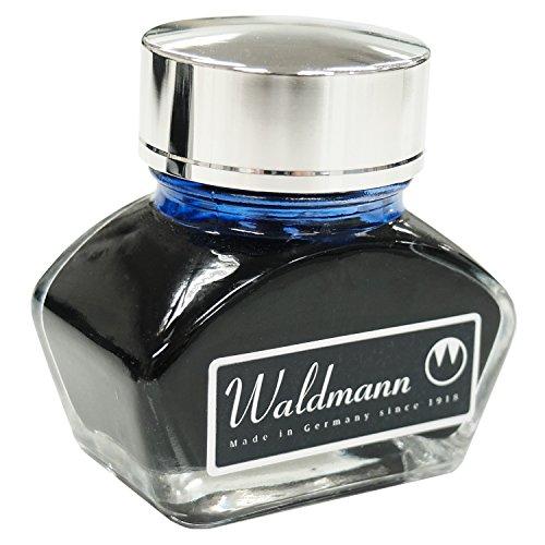 Waldmann Tintenglas, Farbe:Blau