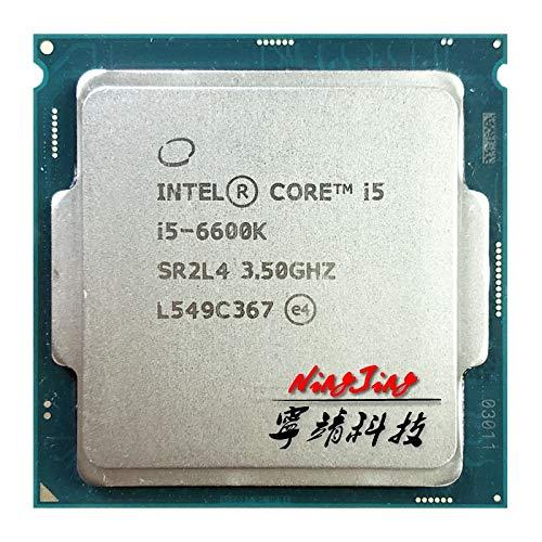 i5-6600K i5 6600K 3.5 GHz Quad-Core Quad-Thread CPU Processor 6M 91W LGA 1151