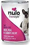 Nulo Grain Free Canned Wet Dog Food (13 oz, Beef) - 12 Cans