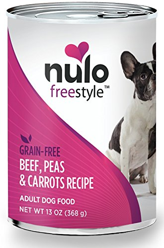 Nulo Grain Free Canned Wet Dog Food (13 oz, Beef)...
