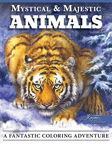 Mystical Majestic Animals A Fantastic Coloring Adventure Design Originals 32 Stunning Designs product image