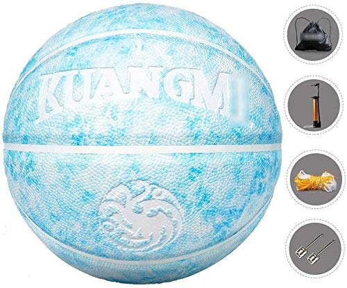 Best Bargain ZHOU.D.1 Basketball- Standard Basketball Indoor and Outdoor No. 7 Basketball Size 9.7in...