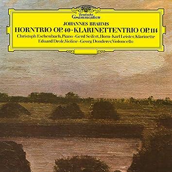 Brahms: Horntrio; Klarinettentrio