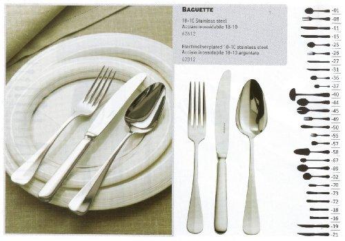 Fourchette De Table Baguette - Acier Inox 18/10