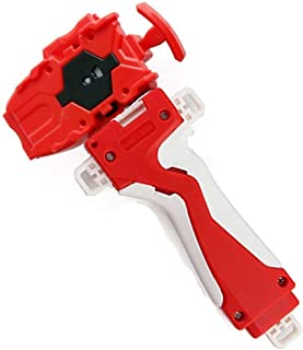 Launcher and Grip, Gyro Burst Starter String Launcher, Strong Spining Top Toys Accessories(Red)