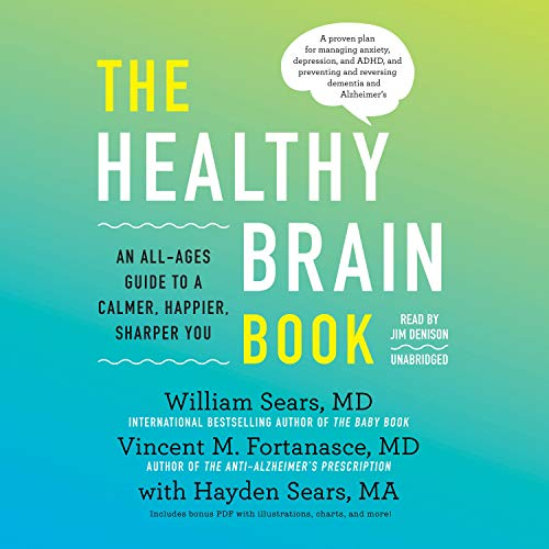 The Healthy Brain Book cover art