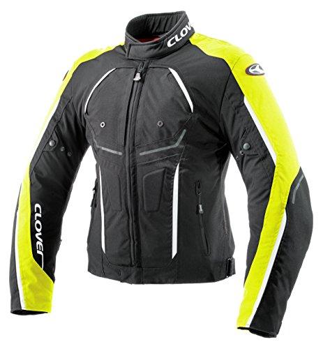 Clover irblade Motorradjacke, Schwarz/Neongelb, M