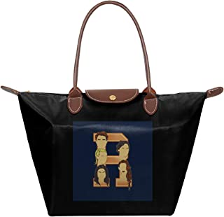 Riverdale Inspired Waterproof Leather Folded Messenger Nylon Bag Travel Tote Hopping Folding School Handbags Jughead Jones