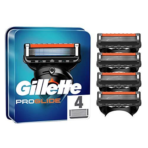Gillette ProGlide Cuchillas de Afeitar Hombre, Paquete de 4 Cuchillas de Recambio