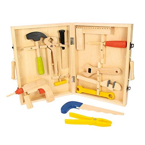 Boîte à outils wn bois pour enfants