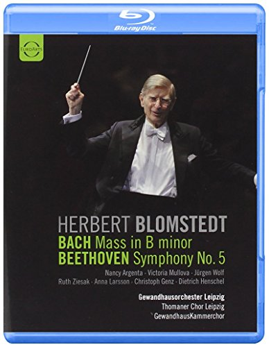 Herbert Blomstedt - Bach h-Moll Messe, Beethoven 5. Sinfonie [Blu-ray]
