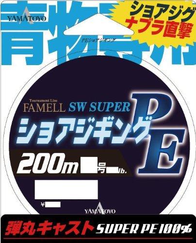 ヤマトヨテグス(YAMATOYO) ライン ファメル PEショアジギング 200M 1.5号 20LB