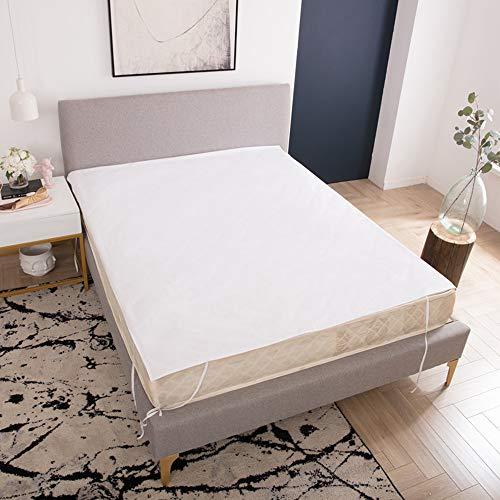 YFWDY matrasbeschermer hoes, gewatteerde matras, schuimmatras topper met hoes, beschermhoes kinderbed, waterdichte tekenbladen, opties voor meerdere maten Full 54 * 76 inch