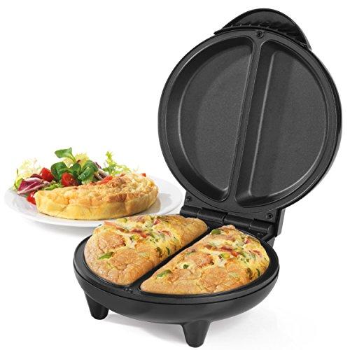 Salter EK2716 Non-Stick Omelette Maker, 750 W, Dual Cooking Chambers, Easy...