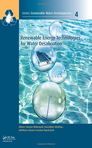 Renewable Energy Technologies for Water Desalination (Sustainable Water Developments - Resources, Ma