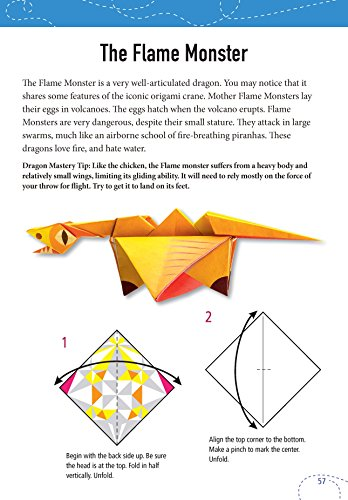 How to Make a Flying Paper Dragon : 15 Steps - Instructables | 500x348