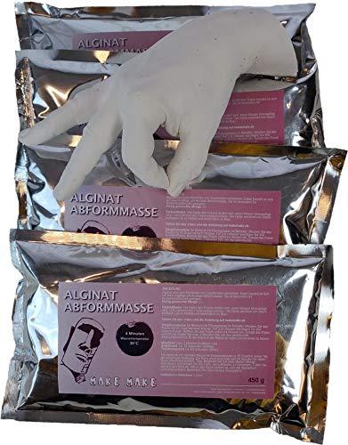 Make Make | 4 Minuten Vielseitige Alginat Abformmasse | 4 x 450g