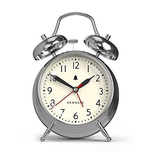 Newgate New Covent Garden Alarm Clock - Chrome