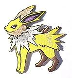 Jolteon Pokémon Go Écusson brodé à coudre/thermocollant 7,6 cm