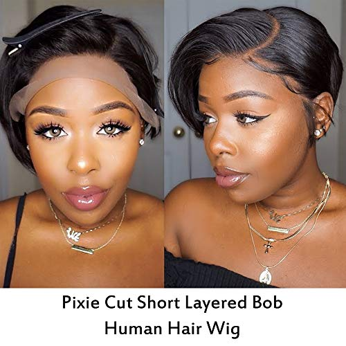 8 inch lace wig _image4