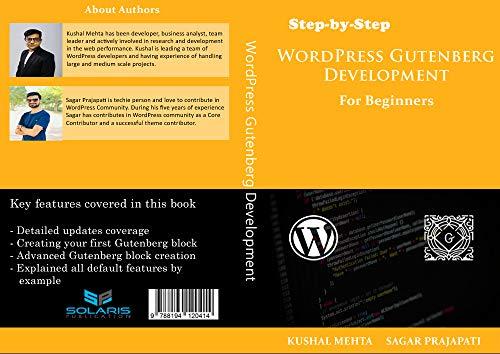 Step by Step WordPress Gutenberg Development: For Beginners (English Edition)