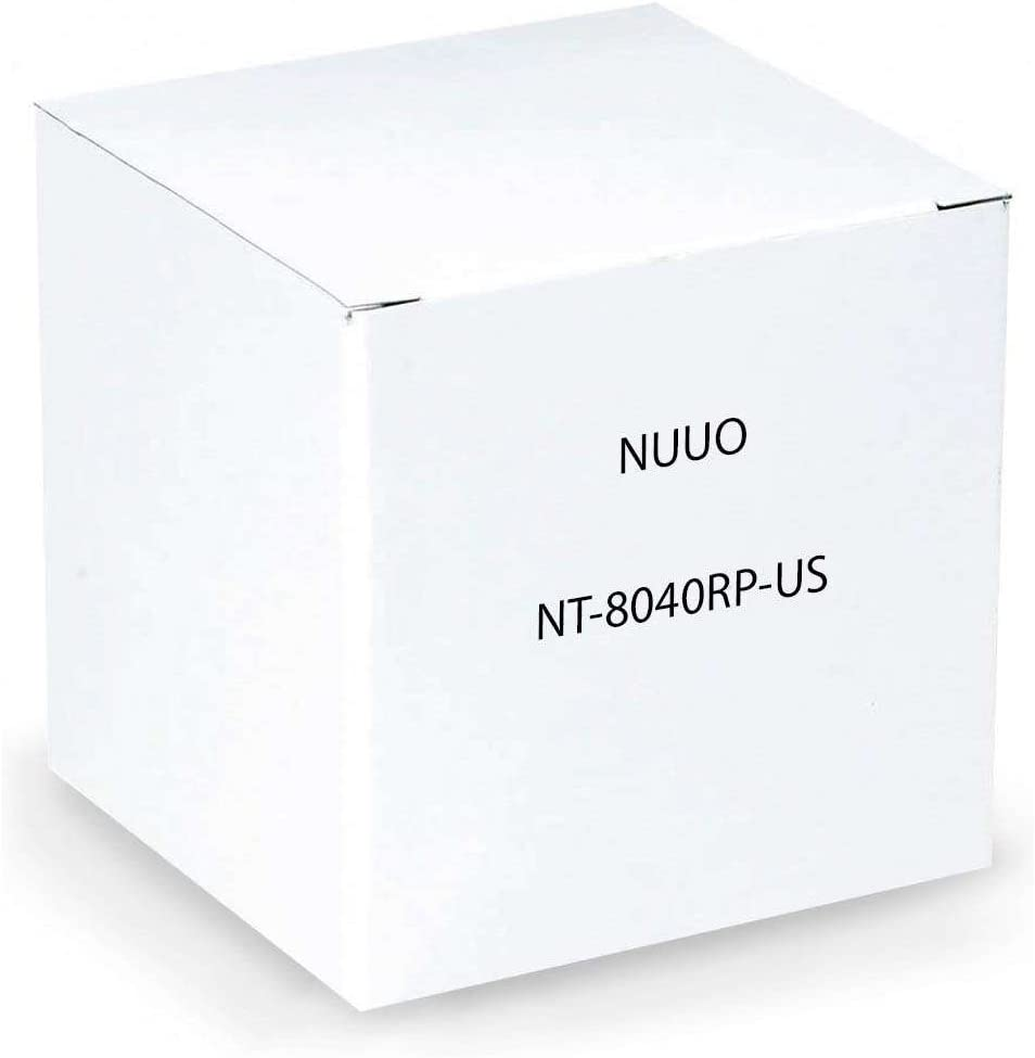 NUUO Max 60% OFF NT-8040RP-US Titan Standalone NVR 4-Channel In HDD 8-Bay No Columbus Mall
