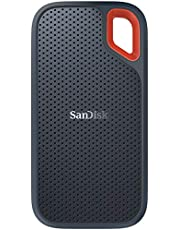 SanDisk 250GB Extreme Taşınabilir Harici SSD, USB-C, USB 3.1, 550MB/sn'e kadar - SDSSDE60-250G-G25