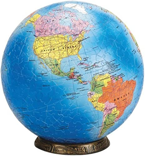 Esphera 360 9 540 Pieces World Globe  Political Map by Mega Brands by Warren Puzzle