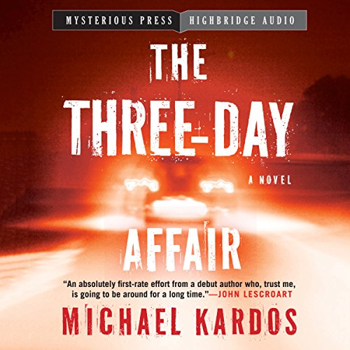 The Three-Day Affair audiobook cover art