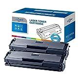 ECSC Compatible Toner Cartucho Reemplazo por Samsung Xpress SL-M2020 SL-M2020W SL-M2022 SL-M2022W SL-M2026 SL-M2026W SL-M2070 SL-M2070F SL-M2070FW SL-M2070W MLT-D111S (Negro, 2-Pack)