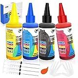 ORDTBY Sublimation Ink Refilled Kit for Epson Inkjet Printer, Anti-UV No-Fading Heat Press Transfer Ink for ET-15000/WF-3820/C88+/XP-4000, Work for Mug/Pillow Case/Phone Case/T-Shirt/Plate/DIY Gift