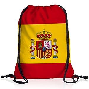 style3 España languidecer Bandera del país Nacional Bolsa Mochila Bolsos Unisex gymsac