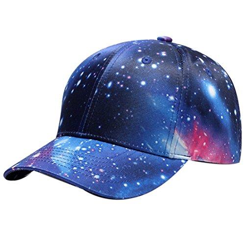 Belsen Damen Hip-Hop Cap Baseball Kappe Trucker Hat (Galaxie Stern)