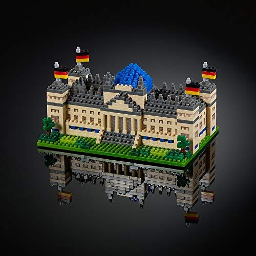 Brixies 410136 Reichstag Berlin, Mehrfarbig