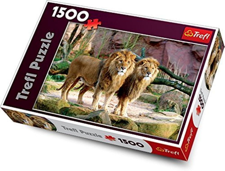 ventas de salida Trefl Lions Lions Lions Jigsaw Puzzle (1500 Piece) by Trefl  barato y de alta calidad