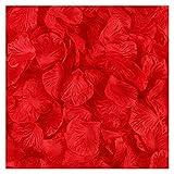 WXL 2000 pétalos de rosa artificiales coloridos para bodas, pétalos de seda coloridos, accesorios de flores artificiales de boda (color: 1)