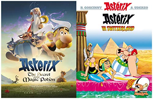 Asterix Full Series : Issue 16-ASTERIX IN SWITZERLAND (English Edition)