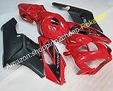 Ventas calientes, para CBR 1000 RR 2004 2005 CBR 1000RR partes CBR1000RR 04 05 Negro Rojo carenado de motocicleta (moldeo por inyección)