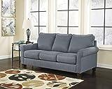 Ashley Furniture Signature Design - Zeth Sleeper Sofa - Full Size - Easy Lift Mechanism - Contemporary Living - Denim