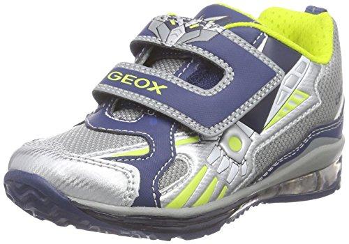 Geox Baby Jungen B TODO Boy A Sneaker, Mehrfarbig (GREY/NAVYC0665), 20 EU