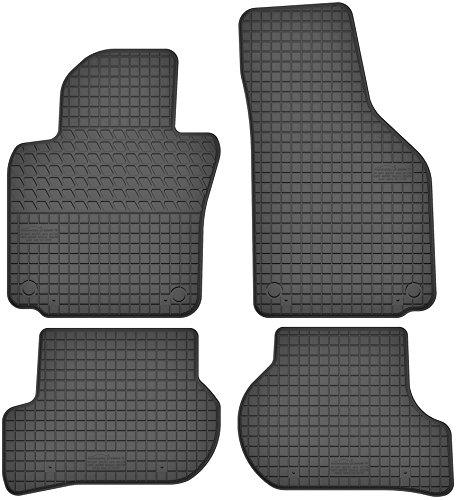 Motohobby Gummimatten Gummi Fußmatten Satz für VW Volkswagen Golf V/VI/Jetta/Scirocco/Skoda Octavia II/Seat Altea/Toledo III - Passgenau