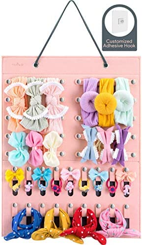 Bow Holders for Girls Bow Organizer for Girls Hair Bows Headband Holder for Baby Girl Newborn product image