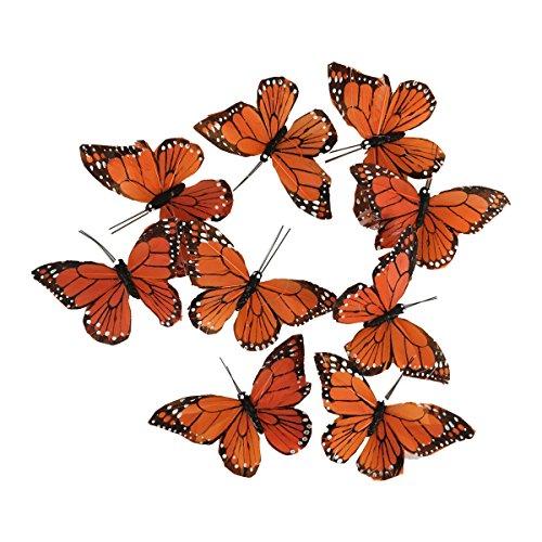 Monarch Butterfly Garland, 6.5 feet Long