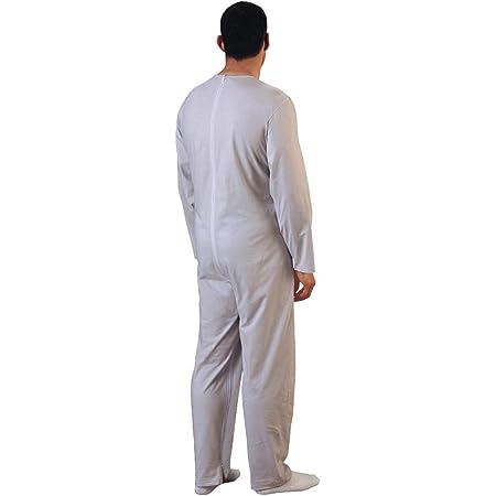Rekordsan Pijama Antipañal Geriátrico Ideal Hombre en Fresco ...