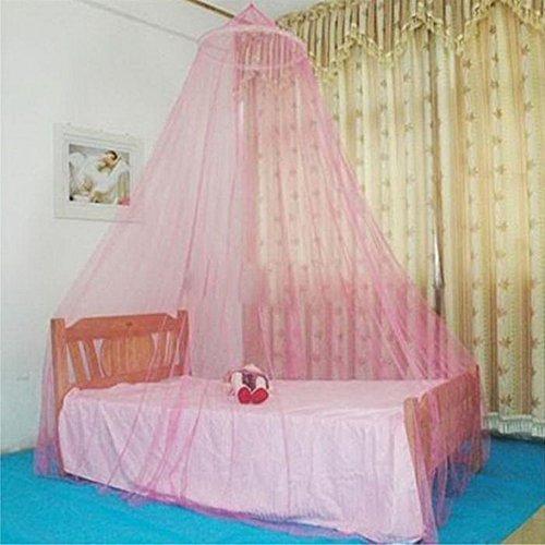 Swiftswan Mosquitera de Encaje Elegante, para Cama de Princesa, mosquitera con Encaje Elegante para Niñas y Bebés