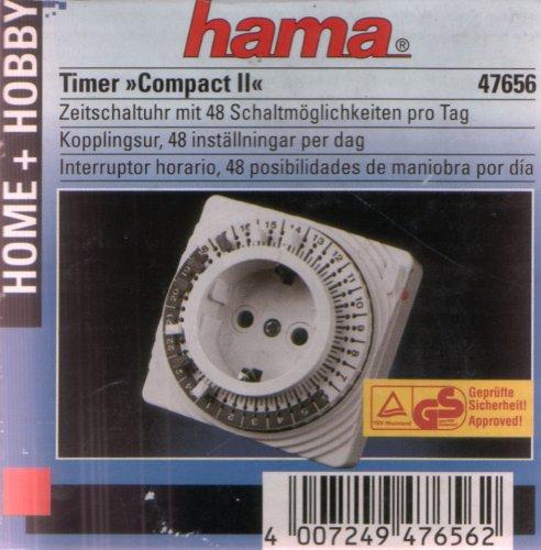 Hama Zeitschaltuhr Timer Compact II