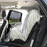 Big Ant Auto Kindersitz Sonnenschutz - Sonnenschutz für Kinderautositze Autokindersitz UV Schutz Abdeckung Kindersitz Sonnenblende Gegen UV, Staub + 2 Seitenscheiben Sonnenschutz